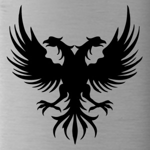 Two eagle Head of the flag of Albania - Water Bottle