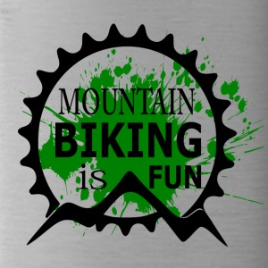 Mountain Biking is Fun - MTB Love - Water Bottle