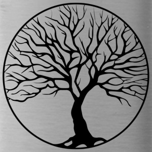 tree circle - Water Bottle