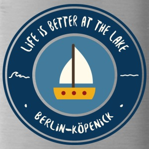 LIFE IS BETTER AT THE LAKE | Koepenick - Water Bottle