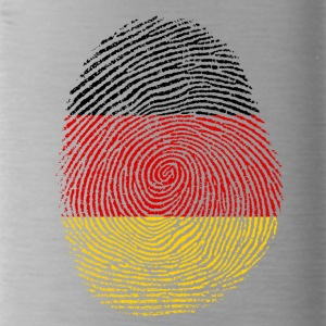 German fingerprint - Water Bottle