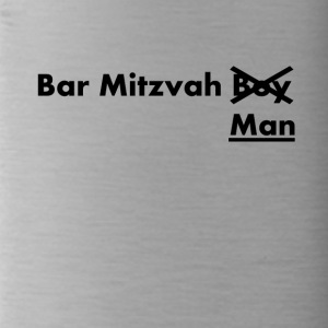 Bar Mitvah man funny sayings - Water Bottle