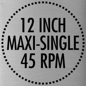 12 INCH MAXI-SINGLE 45 RPM VINYL (zwart) - Drinkfles