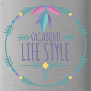 Hippie / Hippies: Vagabond Life Style - Water Bottle