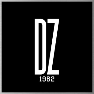 White Logo DZ 1962 - Drinkfles