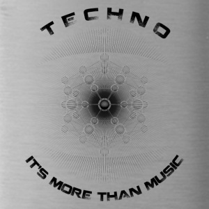 TECHNO - IT'S MORE THAN MUSIC - Water Bottle