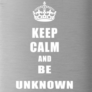 Unknown Rivals Keep Calm and be unknown - Water Bottle