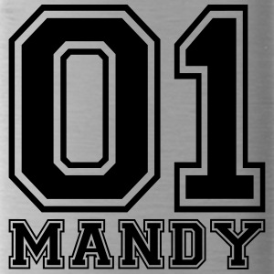 Mandy - Name - Trinkflasche