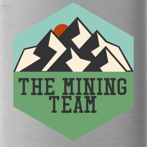 Mijnbouw The Mining Team - Drinkfles