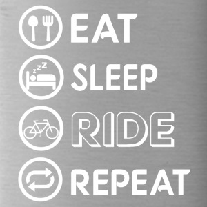 Eating, cycling, cycling - Water Bottle
