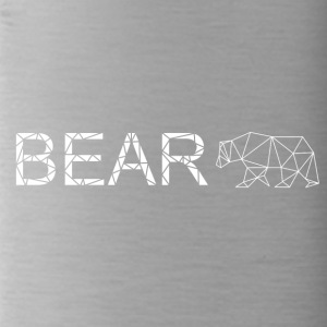 Bear geometrie Art - Drinkfles