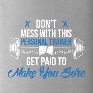 Personal Trainer Gym - Bidon