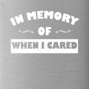 In memory ... funny sayings - Water Bottle