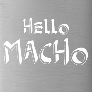 Hallo macho koel citaten - Drinkfles