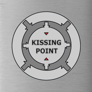 Kissing Point gray - Water Bottle