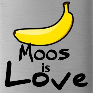 Moos is liefde - Drinkfles