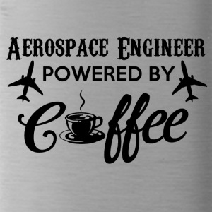 AEROSPACE ENGINEER POWERED BY COFFEE - Trinkflasche