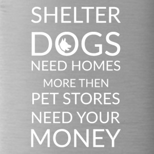 dog shelters - Trinkflasche