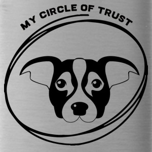 Dog / Jack Russell: My Circle Of Trust - Water Bottle