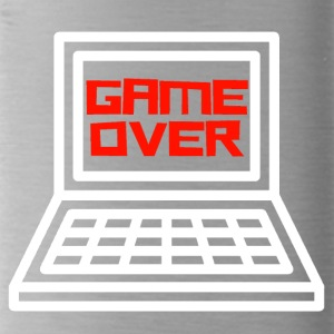 Game Over Gamer Shirt - Trinkflasche