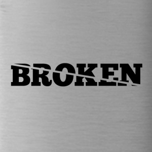 Broken - Drinkfles