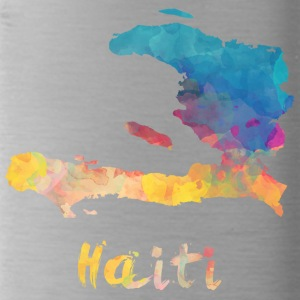 Haitian Watercolor Country - Trinkflasche