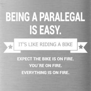 BEING A PARALEGAL - Trinkflasche
