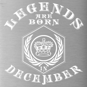 Legends born born birthday gift Young - Water Bottle