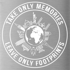 Take Only Memories, Leave Only Footprints - Water Bottle