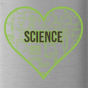 SCIENCE HEART HEAT - Water Bottle