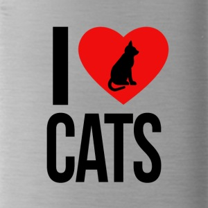 I love cats - Bidon