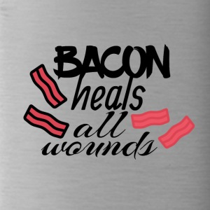 Bacon heals everything - Water Bottle