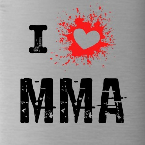i love MMA - Mixed Martial Arts, BJJ, Grappling r - Drikkeflaske