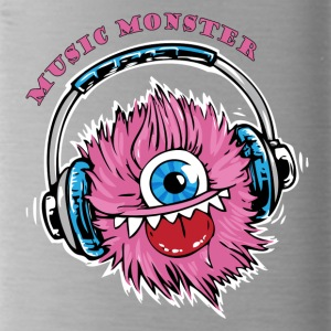 Music Monster - DJ - Party - Trinkflasche