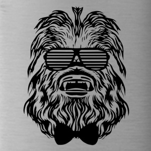 Hipster monkey with sunglasses shirt - Water Bottle