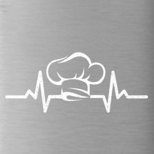 My heart beats for cooking - Water Bottle