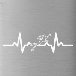 My heart beats for diving - Water Bottle