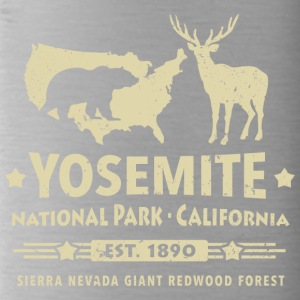 Yosemite National Park California Bear Redwood - Water Bottle