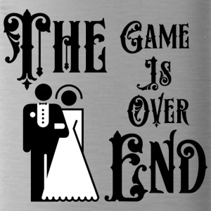 Just Married The Game is over het einde - Drinkfles