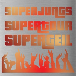 Clubtour: Superjungs - Supertour - Supergeil - Trinkflasche