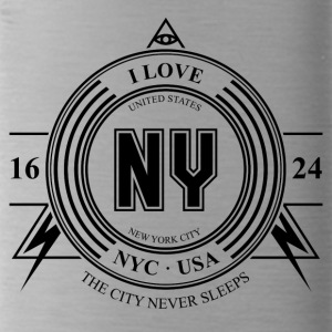 New York City Badge - Gourde