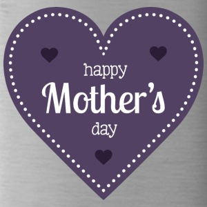 happy mother s day dark heart - Water Bottle