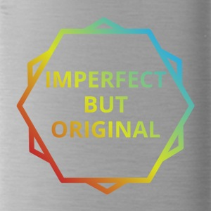 Hipster: Imperfect but Original - Trinkflasche