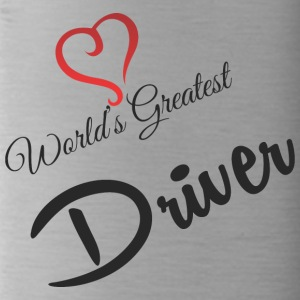 WORD GREATEST DRIVER - Trinkflasche