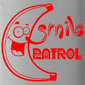 Smile Patrol rood - Drinkfles