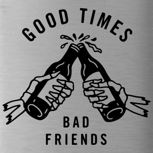 Good times bad friends - Water Bottle