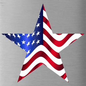 USA America Flagge Stars and Stripes Stern - Trinkflasche