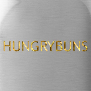 'HUNGRYBUNS' in goud - Drinkfles