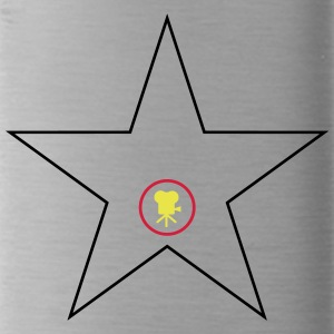 Hollywood Star Black Red Gold - Water Bottle