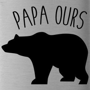 Papa ours - Gourde
